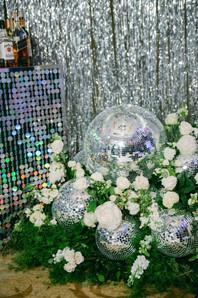 Disco Wedding Decor.
