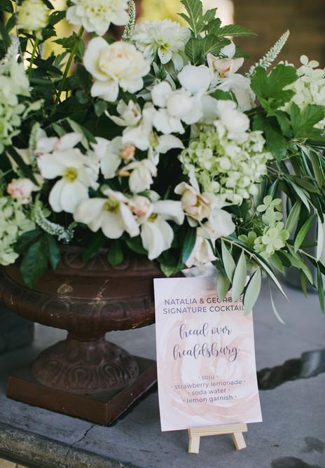 Napa Wedding Signage