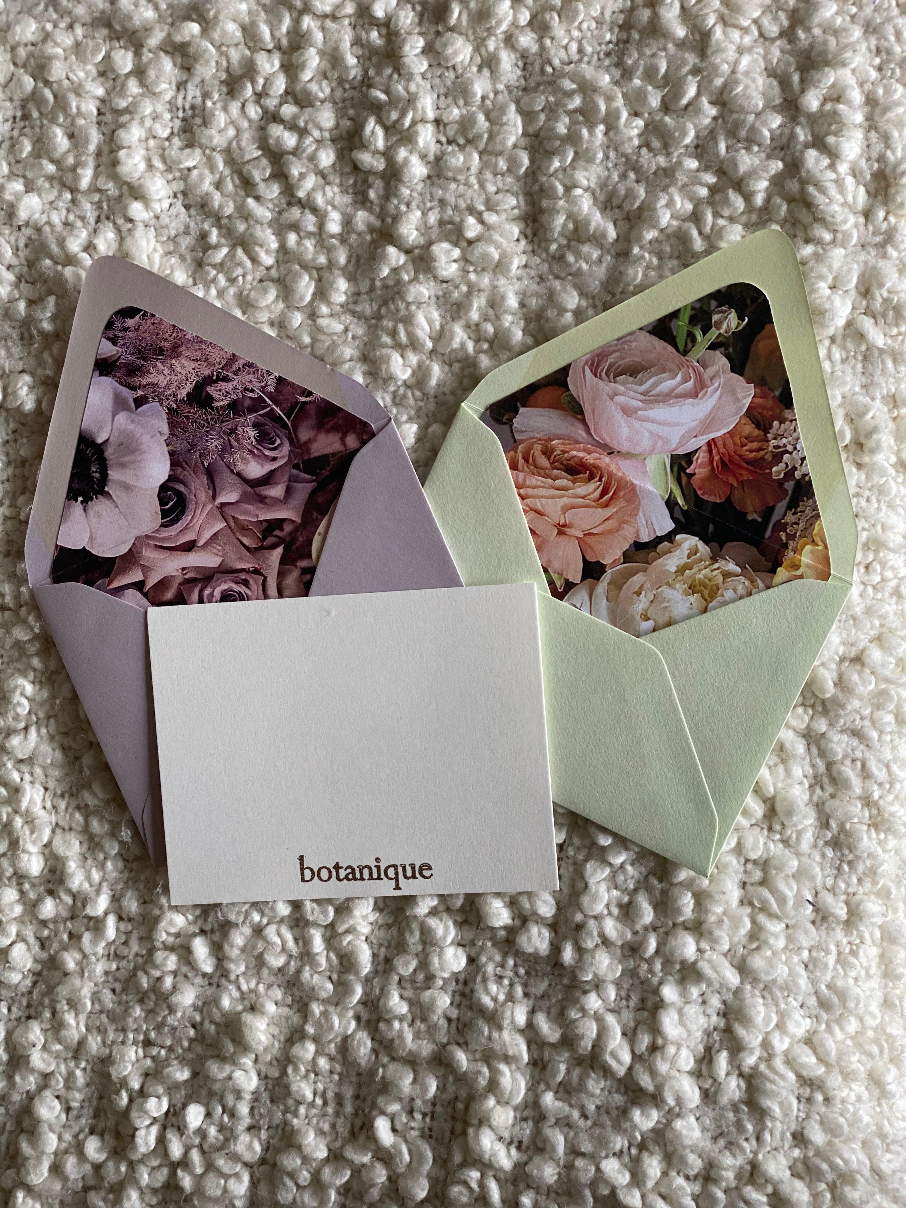 Botanique Stationery