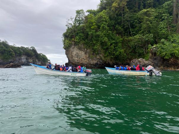 Boat Tour in Senna Bay, Trinidad