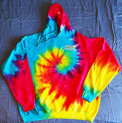 Keepers Famous Psychedelic Tie Die Sweat Shirt