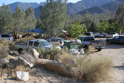 "Exorbitant,  uncontrolled visitor use in ""Dispersed Camping Areas"" on public lands."