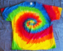 Keepers Famous Psychedelic Tie Die T-Shirt