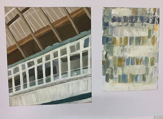 Kesis Halili Paintings. Light and Space.