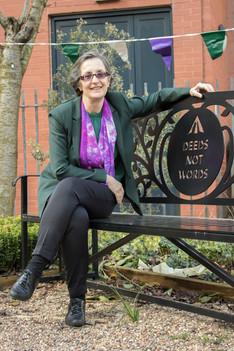 Helen Pankhurst CBE