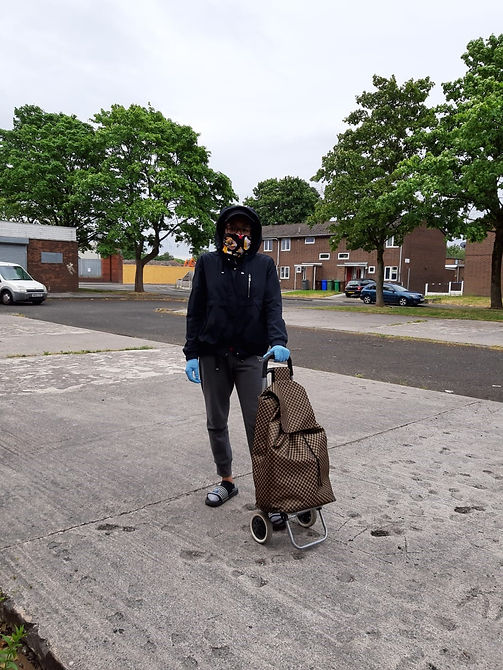 Naomi Outten Lock down Ready to Shop Dre