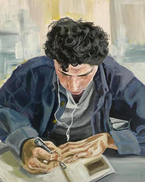 Kesis Halili Painting Portrait Afonso.jp