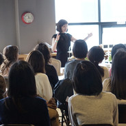 ジャパンセンターUSAにて正式なティーテーブルセッティング&プロトコール講演。