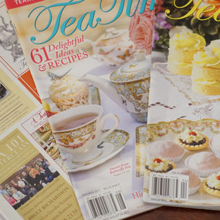 米国ティー専門誌Tea Time誌に写真が掲載されました。