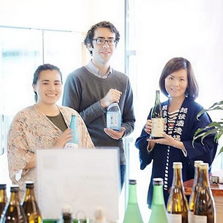 ブルックリンの新名所Industry City より依頼を受け、日本の酒文化をアメリカに広げる一貫として、Sakeテイスティングの仕事をしています。イタリア系アメリカ人オーナーさんの日本酒好きの新規店を広げ続行中です。