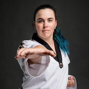 Taekwondo youth instructor