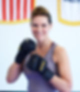 Women's Cardio Kickboxing instructor