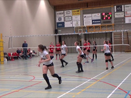 Damesvolley Waregem - Sijos Menen 3 - 0