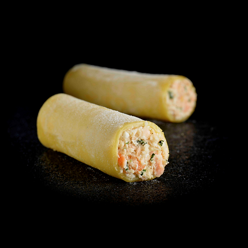 Cannelloni zalm 30x70g diepvries
