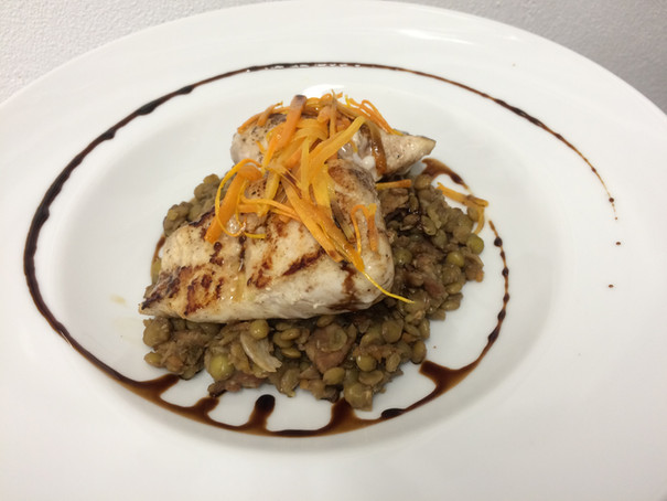 mahi on balsamic bacon lentils.jpg