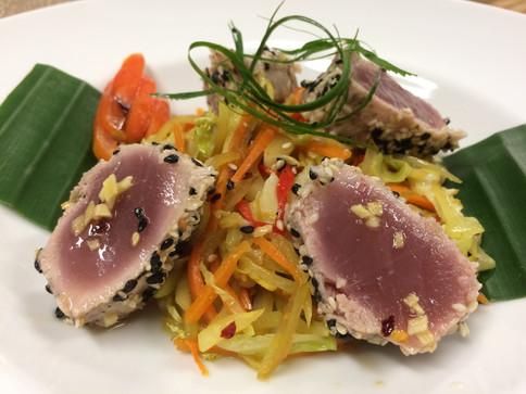tataki on green papaya salad.jpg