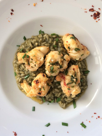 lobster on callaloo risotto.jpg