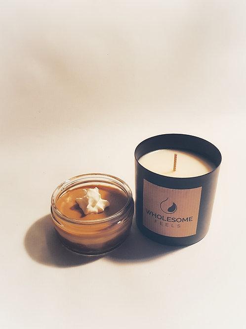 Caramel Delight - Black Jar Candles
