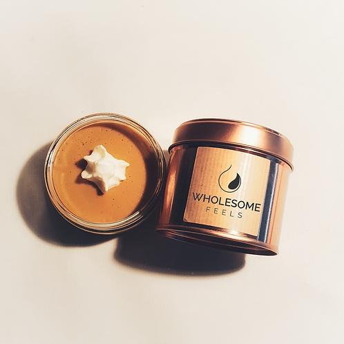 Caramel Delight - Rose Gold Candles