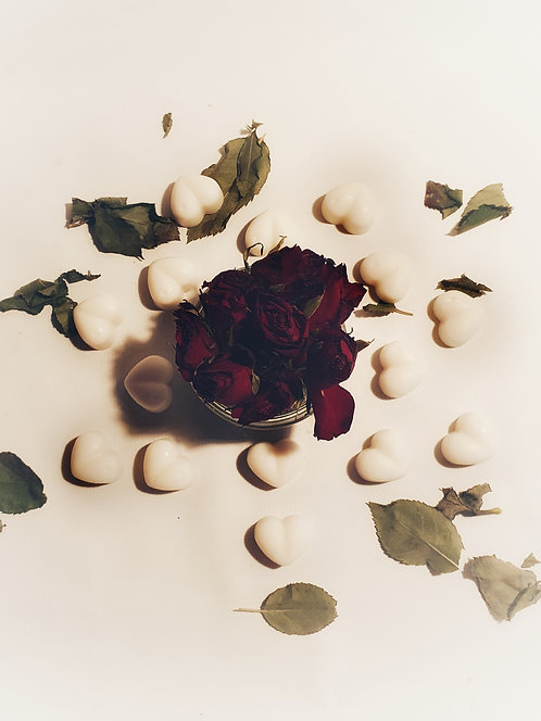 Champagne & Roses - Heart Melts