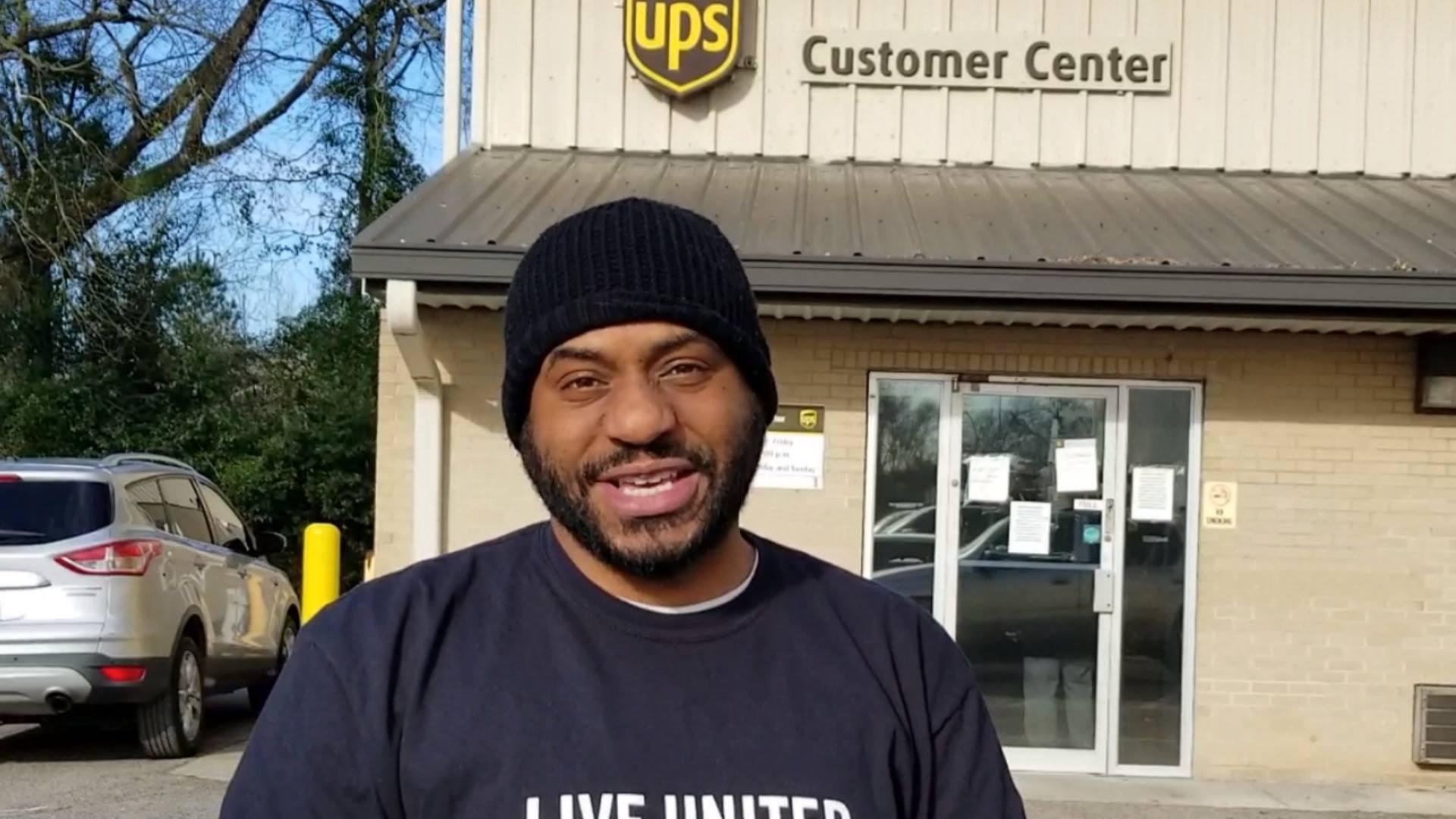 Thankful Thursday at UPS