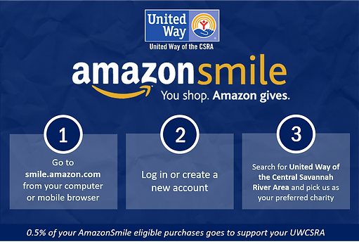 Donate to UWCSRA through Amazon Smile