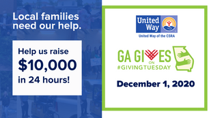 We're Only One Week Away: GA Gives Day on #GivingTuesday!