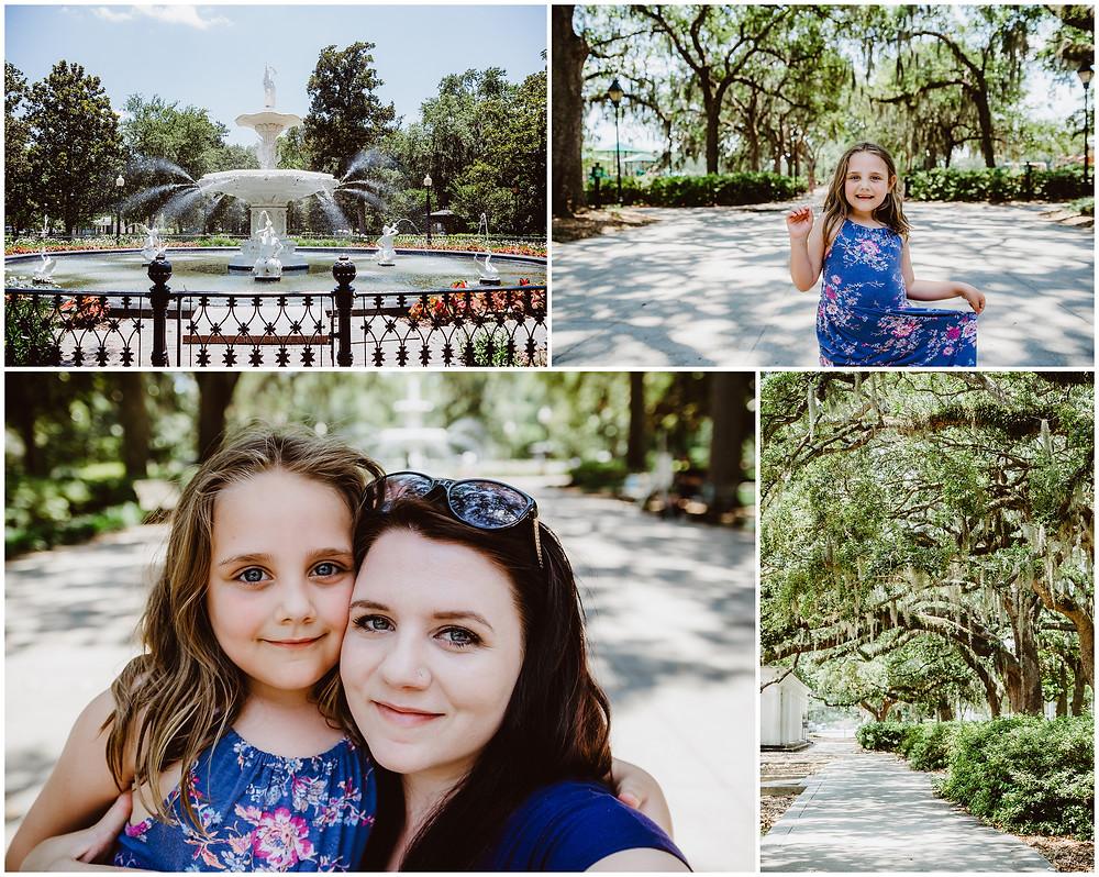Forsyth Park, Savannah Georgia, Travel Photography