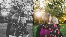 Golden Hour Session {Iowa City Family Photographer}