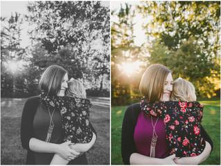 Golden Hour Session {Iowa City Family Photographer}