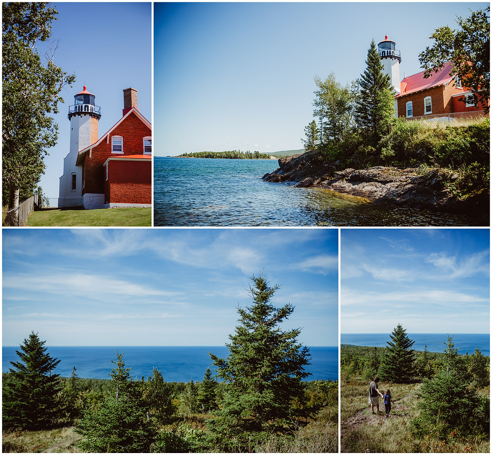 Michigan, Travel Photography, Copper Harbor, Brockway Mountain, Eagle Harbor Lighthouse