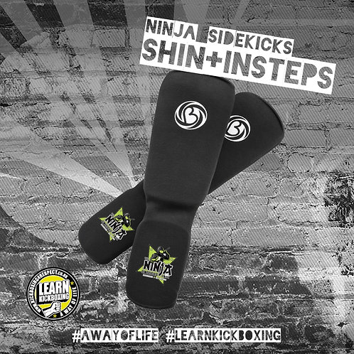 The Ninja Sidekicks Shin Guards