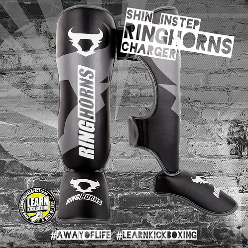 Ringhorns Charger Shin Guards (Grey)