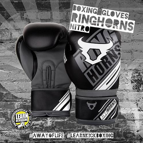 Ringhorns Nitro Boxing Gloves (Grey)