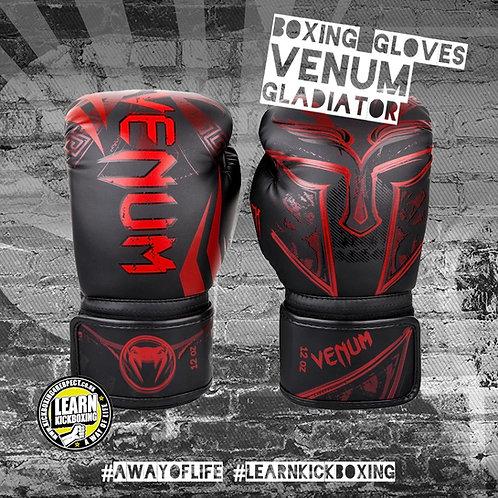 Venum Gladiator 3.0 Boxing Gloves (Red)