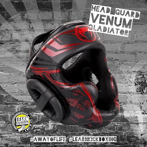 Venum Gladiator 3.0 Head Guard (Red)