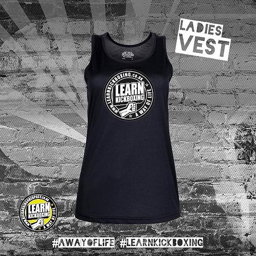 Learn Kickboxing Vest (Ladies)