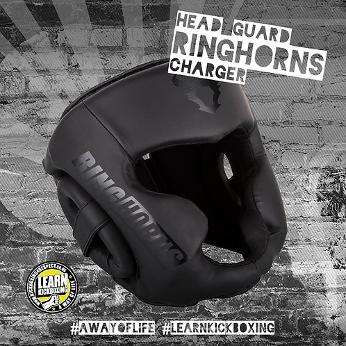 Ringhorns Charger Head Guard (Black)