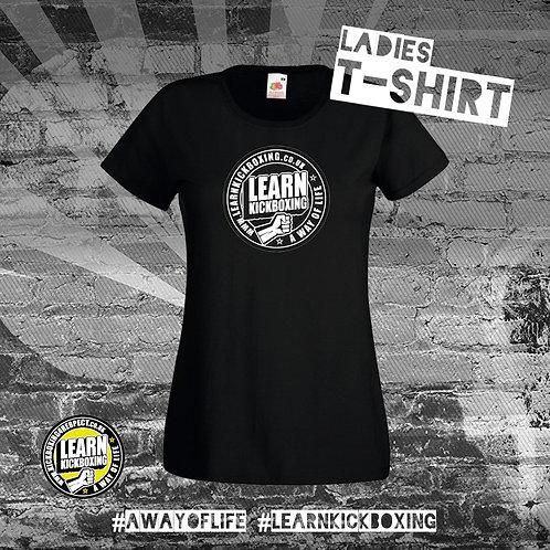 Learn Kickboxing T-Shirt (Ladies)