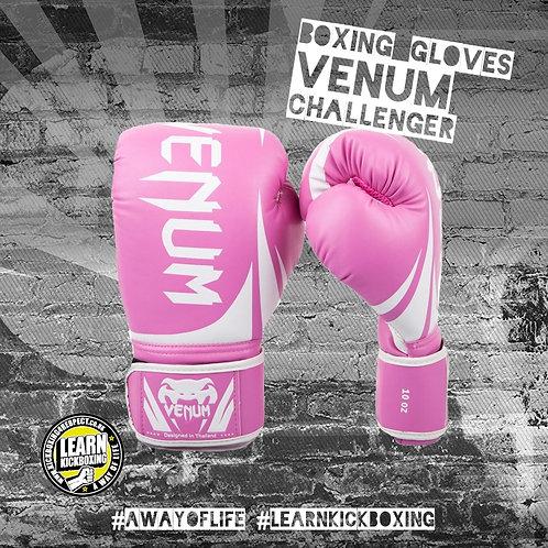Venum Challenger Boxing Gloves (Pink)