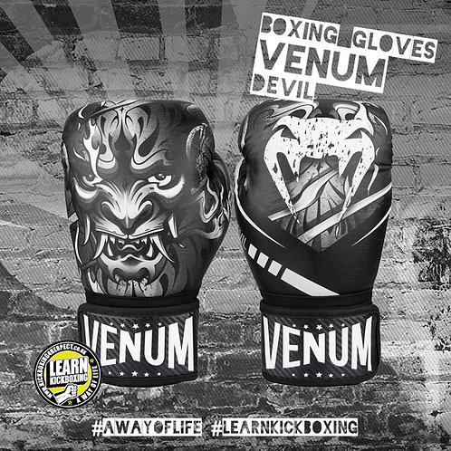 Venum Devil Boxing Gloves