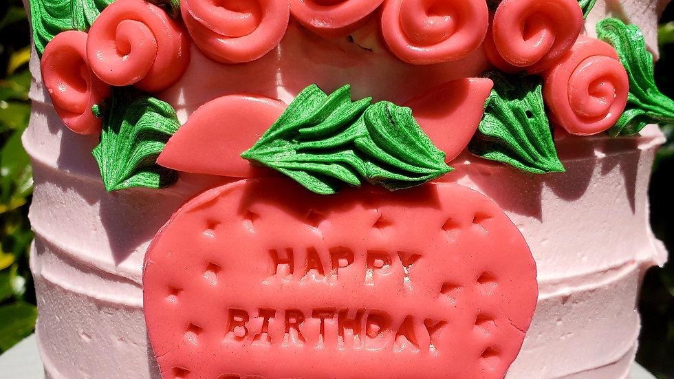 STRAWBERRY EVERYTHING CAKE