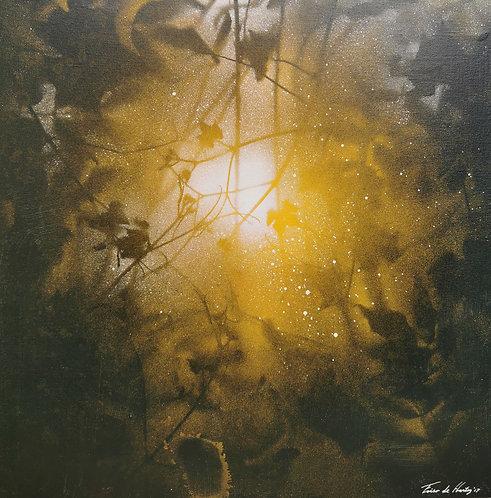 """Golden dawn"", Poster, 50cm x 50cm"