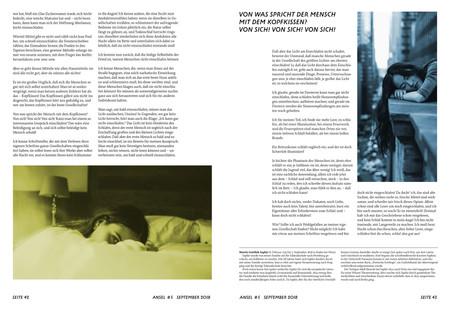 Literaturmagazin Ansel
