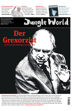 Jungle World Cover