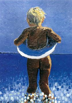 Girl in the Sea