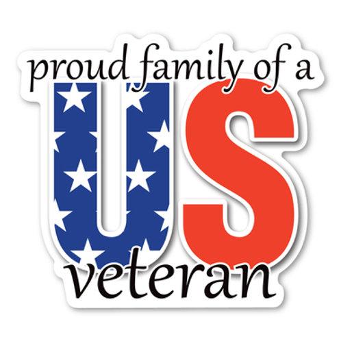 Proud Veteran Family Magnet