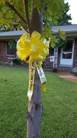 Tie a Yellow Ribbon....