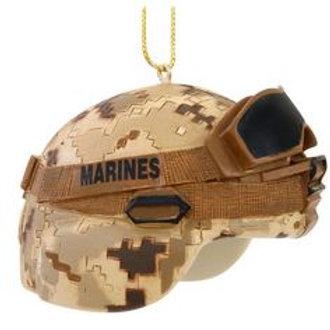 Desert Helmet Ornament