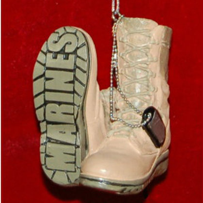 Marine Boots Ornament